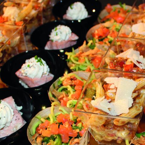Verrines apéritives haute en couleur pour vos apéritifs dînatoires