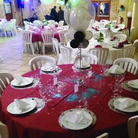 Table déco de mariage