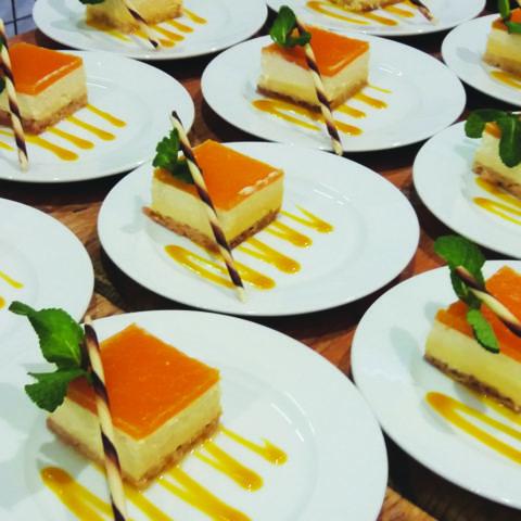 Dessert Fruits de la passion - mangue